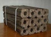 Топливные брикеты с тырсы дуба - евродрова Пинии Кей для котлов,  камин
