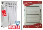 Биметаллический радиатор Herz,  Alltermo Super Bimetal