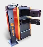 Продаем твердотопливный котел на дровах СЕТ 100 кВт с ручной загрузкой