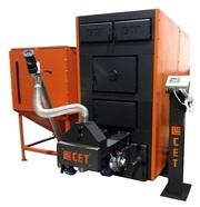 Автоматический промышленный твердотопливный котел на пеллетах СЕТ 1000