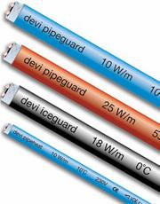 Саморегулирующиеся нагревательные кабели (самрег) Devi  для обогрева
